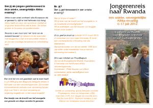 2012 Rwanda reis NED